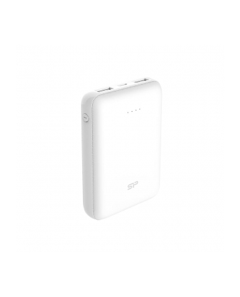 Silicon Power Cell C100 Power Bank 10000mAH, mini, Biały