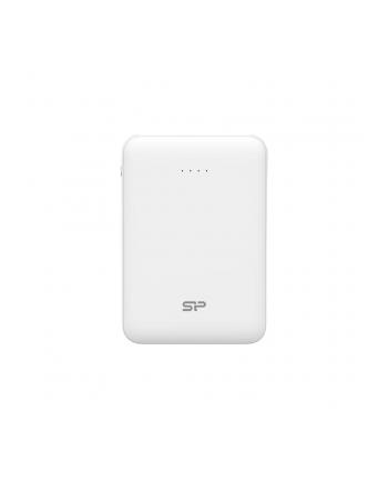 Silicon Power Dash C50 Power Bank 5000mAH, mini, Biały