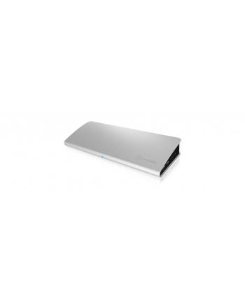 raidsonic IcyBox Stacja Dokująca Thunderbolt 3 Type-C, VGA, HDMI, miniDP, czytnik kart SD