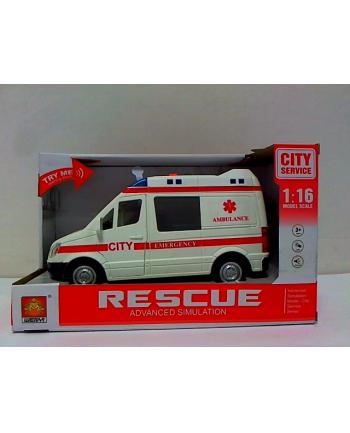bigtoys Auto ambulans św/dźw BA7307 47307