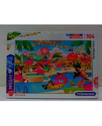 clementoni CLE puzzle 104 Brilliant Flamingos Party 20151