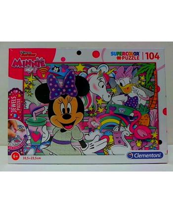 clementoni CLE puzzle 104 Minnie Jewels 20154