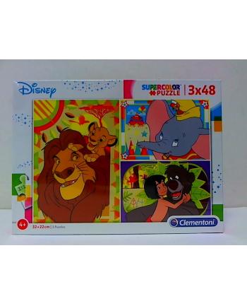 clementoni CLE puzzle 3X48 Disney classic 25236