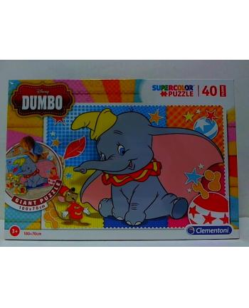 clementoni CLE puzzle 40 podłogowe 100X70cm Dumbo 2019 25461