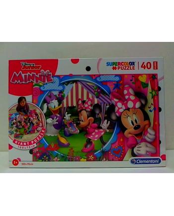 clementoni CLE puzzle 40 podłogowe 100X70cm Minnie 25462