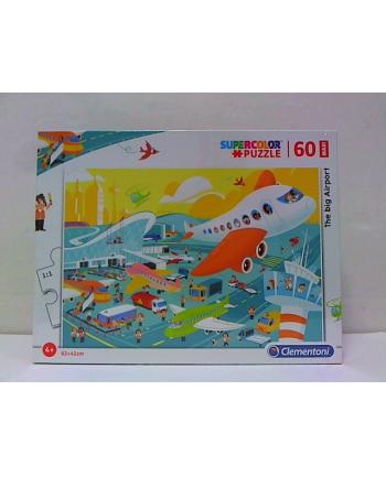 clementoni CLE puzzle 60 maxi Duże lotnisko 26447