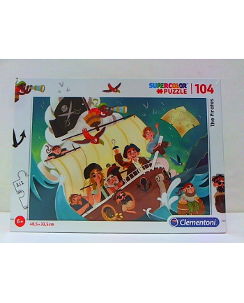 clementoni CLE puzzle 104 The Pirates 27278