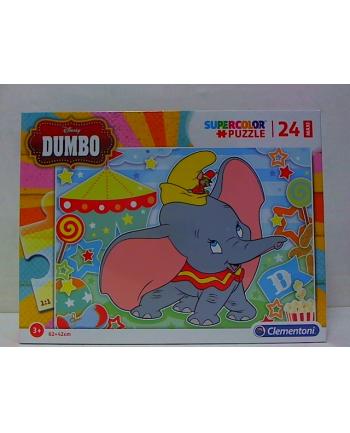 clementoni CLE puzzle 24 maxi Dumbo supercolor 28501