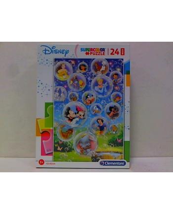 clementoni CLE puzzle 24 maxi Classic Disney supercolor 28508