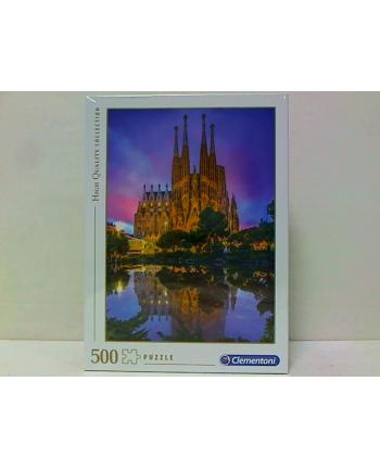 clementoni CLE puzzle 500 HQ Barcelona Sagrada Familia 35062
