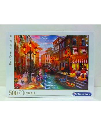 clementoni CLE puzzle 500 HQ Sunset over Venice 35063