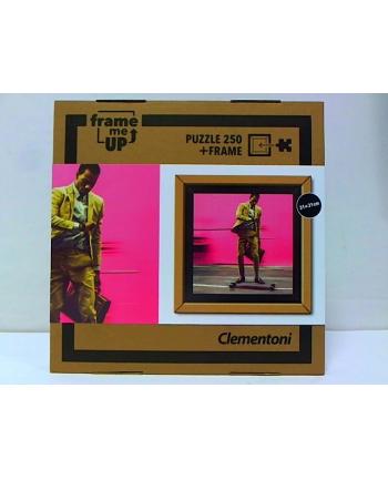 clementoni CLE puzzle 250 Koleś na deskorolce + ramka 38501
