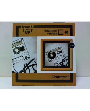 clementoni CLE puzzle 250 Kaseta + ramka 38503