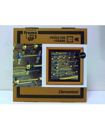 clementoni CLE puzzle 250 Piłkarzyki + ramka 38504