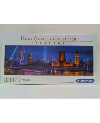 clementoni CLE puzzle 1000 Panorama HQ London 39485