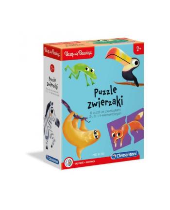 clementoni CLE Uczę się bawiąc - puzzle zwierzaki 50074
