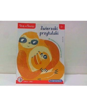 clementoni CLE Uczę się bawiąc - Zwierzaki przytulaki 50080