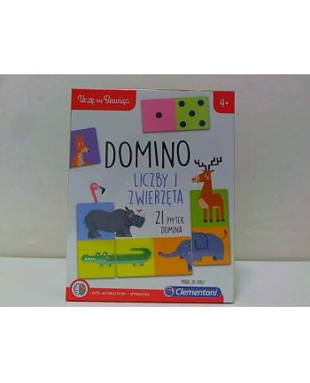 clementoni CLE Uczę się bawiąc - Zwierzęce domino 50083