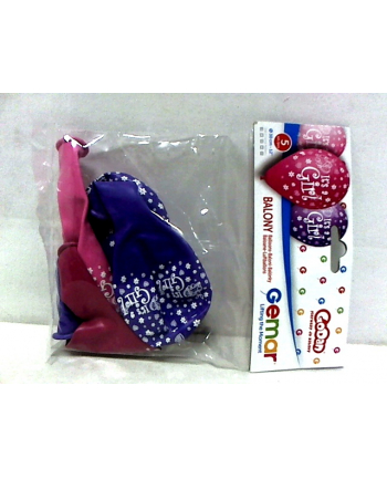 godan Balon folia 18''QL HRT B-day Magical Unicorn 57319.