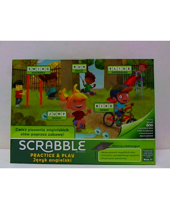mattel Gra SCRABBLE PRACTICE & PLAY GGB32 /6