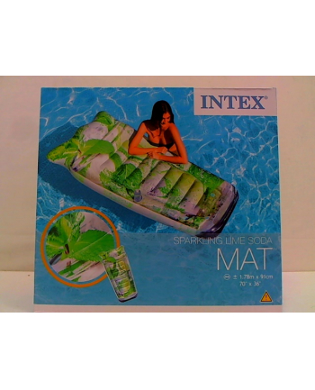 Materac woda z bąbelkami 58778EU INTEX