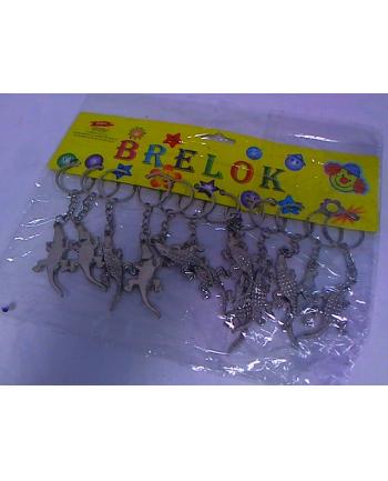 midex Brelok jaszczurka 12szt/opak 0507E 21125