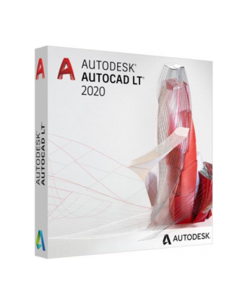 autodesk AutoCAD LT 2020 Commercial New Single-user ELD 3-Year Subscription 057L1-WW3033-T744