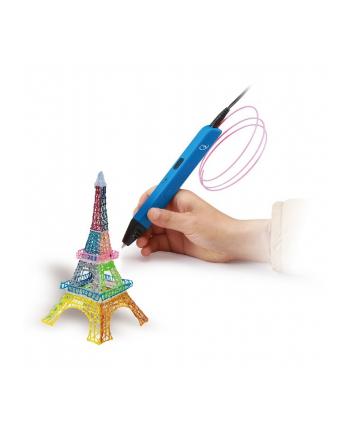 gembird Długopis do druku 3D ABS/PLA/niebieski